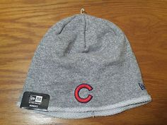 NEW New Era Chicago Cubs Twist Turn Beanie Hat Cap Women's One Size MLB Baseball