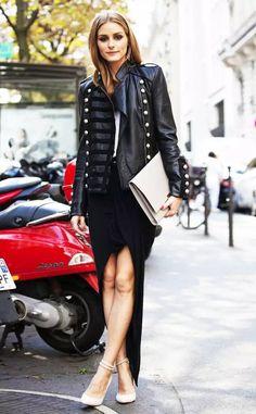 OP Bodaskin Napolean leather jacket Tenue, Manteau En Cuir, Robe Noire,  Veste Officier bc0564e70a39