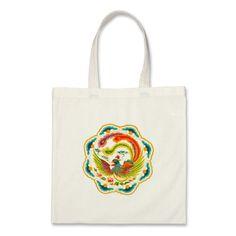 Rainbow Phoenix Bags by Auspiciousone