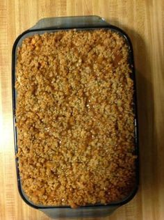 These Caramel Apple Cheesecake Barsare a layer of cheesecake over a graham cracker crust covered with cinnamon-spiced apples a streusel topping and drizzled with sweet caramel. The PERFECT dessert for Fall!  Ingredients:  Crust:    3/4 cup graham cracker crumbs    1/4