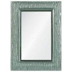 Ren-Will 25-Inch x 34-Inch Rectangular Scott Mirror in Silver - BedBathandBeyond.com
