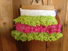 Girls Sashay TuTu Skirt- Medium (White, Pink, Lime) on Etsy, $20.00