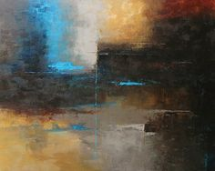 Abstract painting 48603 by Martin Figlinski Acrylic ~ 48 x 60 $2500