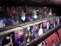 Exo Overdose cds