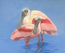 Fine Art of native Floridian and coastal wildlife artist Kelly Reark