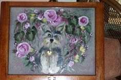 This is another favorite of mine; it is a painting I did for my girlfriend and it is a picture of her daughter's Yorkie, Maddie.