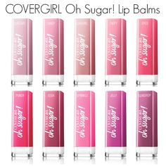 COVERGIRL Oh Sugar Lip Balms...how do they compare to the pricier lip balms?