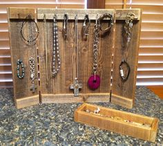 Wholesale-10 Rustic Jewelry Display Panels by FaithinGodRanchshop
