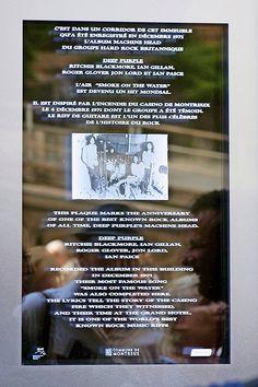 Evénement: Montreux grave «Smoke on the Water» sur de la pierre - News Vaud & Régions: Riviera-Chablais - 24heures.ch #smokeonthewater  #deeppurple  #montreux Jon Lord, Deep Purple, Hard Rock, Montreux, Smoke On The Water, Grave, Geneva, Lake Geneva, Stone