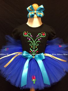 Hey, I found this really awesome Etsy listing at https://www.etsy.com/listing/190891641/frozen-tutu-set-anna-black-t-shirt