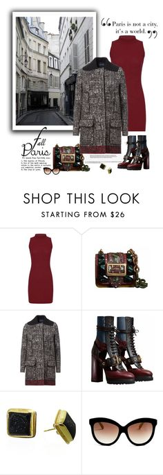 """""""I Love Paris in the Fall"""" by emcf3548 ❤ liked on Polyvore featuring Bellagio, Burberry, Lanvin, Maya Magal and Italia Independent"""