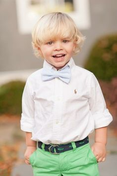 my sons will wear bowties