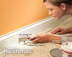 painting trim: prep is 90 percent of the work! how to prep your trim for paint. Painting trim tutorial.