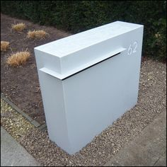 briefkasten edelstahl beton pfosten befestigen briefkasten pinterest briefkasten edelstahl. Black Bedroom Furniture Sets. Home Design Ideas