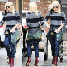 c58ccb202b  Gwenstefani leaving her  routine  acupuncture appointment today in   losangeles  streetstyle 12