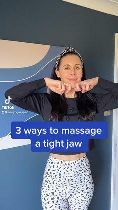 Face Yoga Method, Face Yoga Exercises, Facial Tips, Facial Yoga, Beauty Care Routine, Healthy Skin Tips, Face Massage, Face Contouring, Skin Care Remedies
