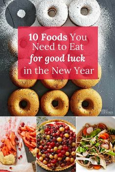Start eating these on December 31st for good luck and fortune in the year to come!/