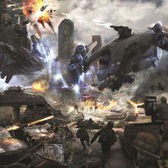 Hawk Wargames: Dropzone Commander Makes Huge Announcements At Salute