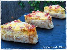 La cocina de Virtu: Pastel pan de molde y chorizo