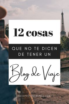 Quieres crear un blog de viaje? lee primero este post sobre todas las cosasa que  no te cuenta sobre hacer un blog de viajes #escapesporelmundo #tipsblogdeviajes #mochileros #blogger #bloggingtips