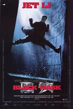 About leave it to jet li to invent tai chi is the new black 's fifth season. Jet li stars as police officer kit yun as he fights his way from hong. Black Mask Movie, Black Mask 1996, Jet Li, Top Movies, Great Movies, Movies Free, Watch Movies, Movie Gifs, I Movie