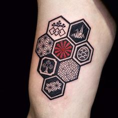 japanese hexagon - Google Search
