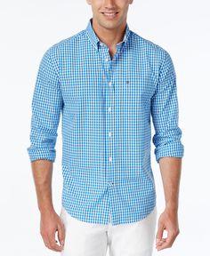 Tommy Hilfiger Long-Sleeve Twain Check Shirt