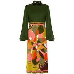 1960s Pucci Silk Jersey Printed Dress