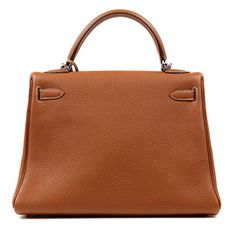 Authentic Hermes Gold  32 Cm Kelly Bag