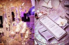 diamond anniversary party | ... --400pcs 4 Carat (10mm) PURPLE Diamond Confetti Wedding Party