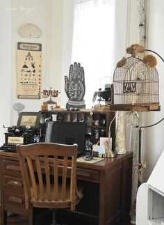Anne Lorys' workspace