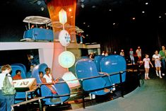 Adventure Thru Innerspace opened in 1967 as part of the New Tomorrowland. The ride was a simulation of what would happen if humans could be minaturized to a size smaller than an atom. Riders took a trip on omnimover cars similar to the ones at the Haunted Mansion. Similiarly, Adventure Thru Innerspace was narrated by Paul Frees, who also did the voice-over for the Haunted Mansion. The highlight of the ride was a giant microscope that appeared to show miniatured riders moving through. Once on…