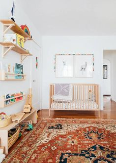 This Elegant Light-Filled Home Is the Epitome of Cali-Cool Style – Baby Room Ideas Boho Nursery, Nursery Neutral, Nursery Room, Boy Room, Kids Bedroom, Nursery Decor, Kids Rooms, Natural Nursery, Play Rooms