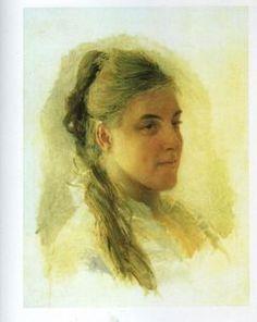 Nikolai Ge - Katerina Iwanowna Zabello