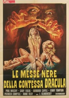 La Noche de Walpurgis AKA Blood Moon (usa video title) aka The Werewolf Versus the Vampire Woman (usa) aka Werewolf Shadow (usa dvd title) (1971) movie poster (Italy)