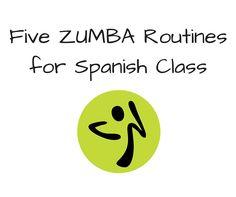 Fun for Spanish Teachers: Five Zumba Routines for Spanish Class