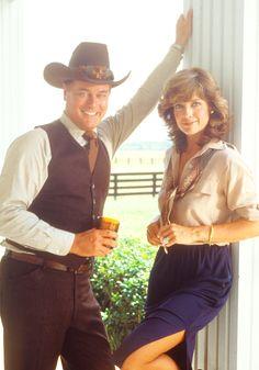 J.R. and Sue Ellen Ewing - Larry Hagman and Linda Gray