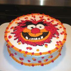 Muppet Animal cake