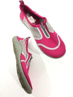 Pink/Silver Water Shoes