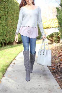 Shades of Grey - Magnolia Post Co 9 Fall Lookbook, Shades Of Grey, Magnolia, Clothes, Boots, Women, Fashion, Crotch Boots, Moda