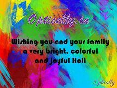 Celebrate #Holi With Optically
