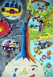 관련 이미지 Oil Pastel Colours, Save Environment, Art Competitions, Poster Making, Art Music, School Projects, Art For Kids, Paint Colors, Watercolor Paintings