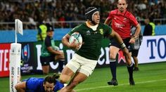 Predatory Kolbe delivers X-factor for South Africa SHIZUOKA: Predatory winger Cheslin Kolbe has underlined his status as one of rugby union´s hottest properties with another… Wayde Van Niekerk, South Africa Rugby, Record Holder, Shizuoka, All Blacks, Rugby Players, World Records, Factors, The Man