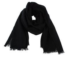 Black cashmere scarf. Pure pashmina scarf.   100% natural. November sale by MyKolachi on Etsy