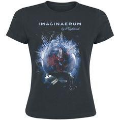 Girlie-paita Imaginaerum by Nightwish -leffan hengessä. 100% puuvillaa.