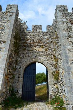 Porta do Sol at Sesimbra Castle - Julie Dawn Fox in Portugal