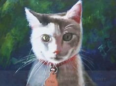 Lola - Oil Paintings Oil Paintings, Pastel, Cats, Animals, Pie, Gatos, Kitty Cats, Animaux, Animal
