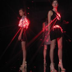Hussein Chalayan Futuristic Fashion by Hussein Chalayan, #fashion, #lighted, #dress, #technology