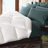 Best Down-Alternative Comforters. I can't in good conscience continue using my down comforters but I do want something that is comparable. Fluffy, lightweight, warm.