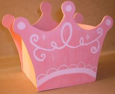 Manualidades Luna Clara: dulceros de princesas